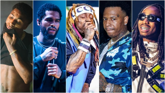 5 Most Prolific Rap Artists In 2018: By The Numbers