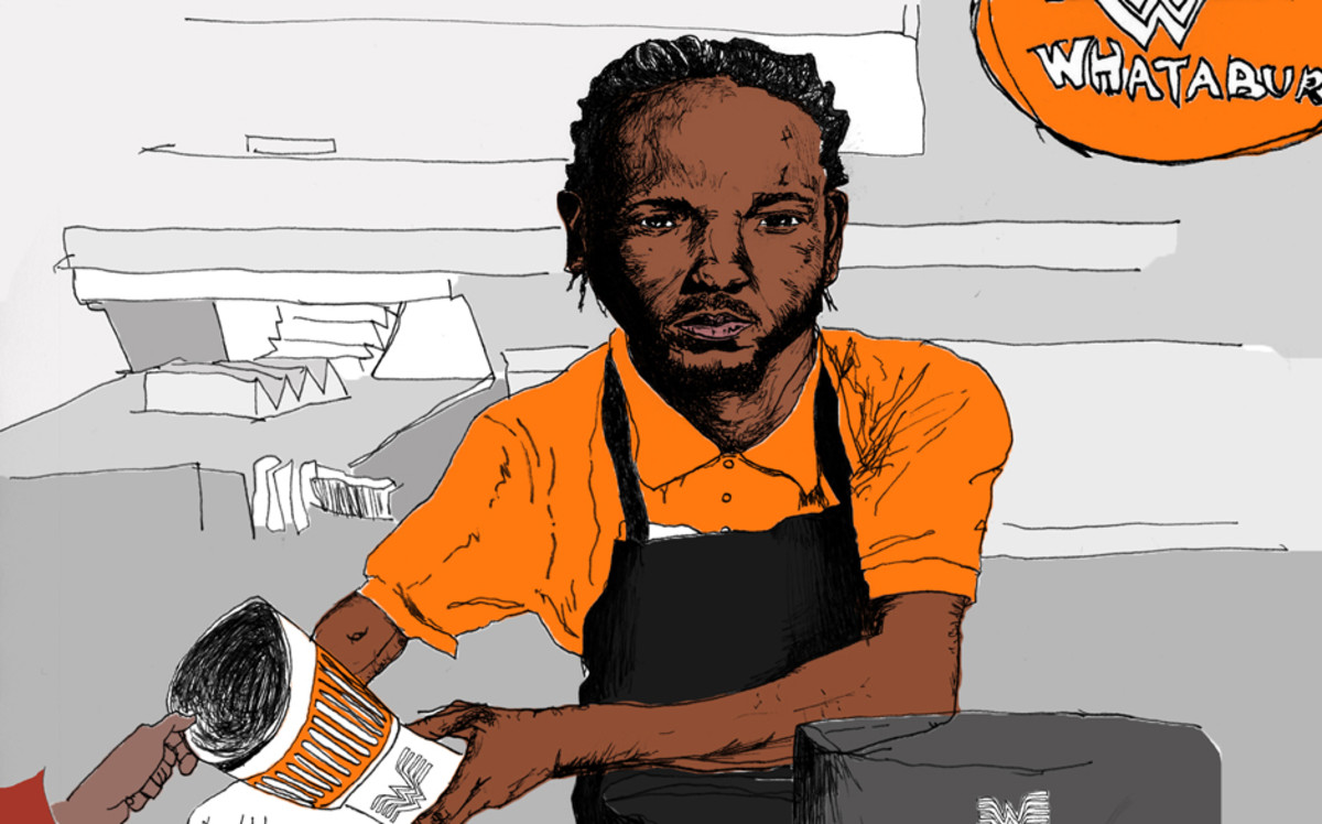 Kendrick Lamar, Whataburger