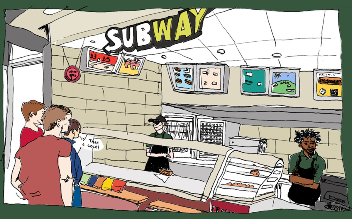 J. Cole Subway