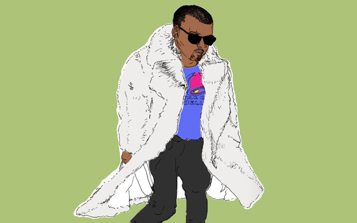 Kanye West Taco Bell