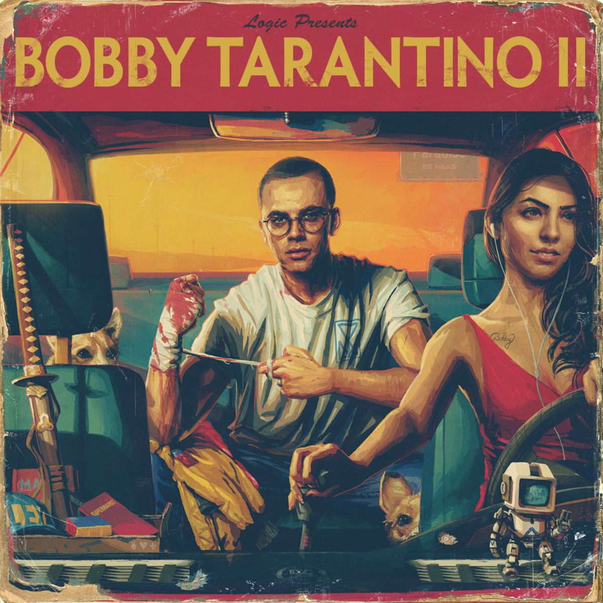 Logic Bobby Tarantino II cover