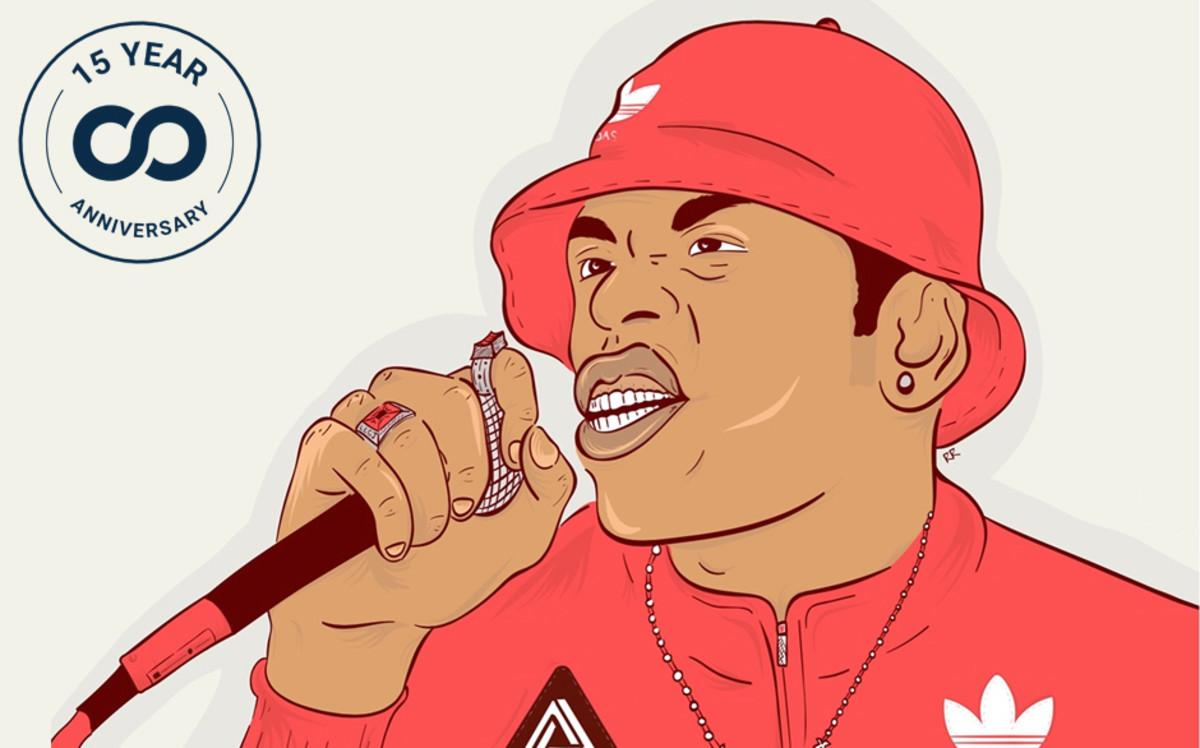 LL Cool J art by Ryan Robinson