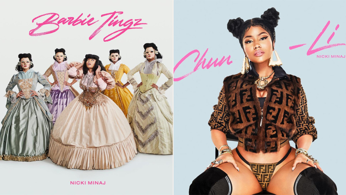 Nicki Minaj Barbie Tingz Chun Li New Singles Reviewed