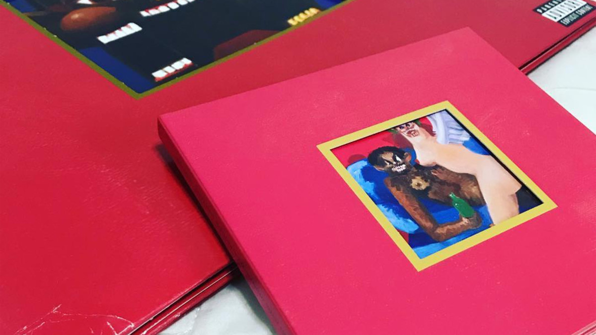 Kanye West My Beautiful Dark Twisted Fantasy 2x Platinum