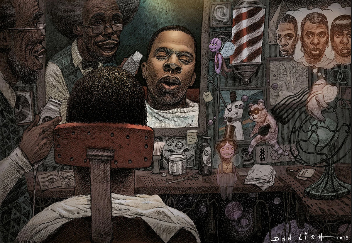 JAY-Z Egostrip Dan Lish artwork