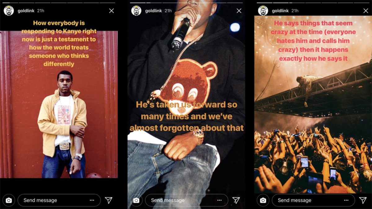 GoldLink Comments on Kanye West