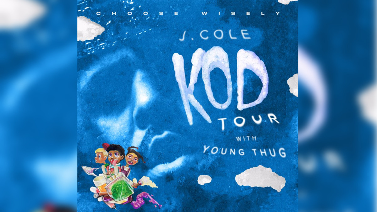 KOD Tour Dates, J Cole