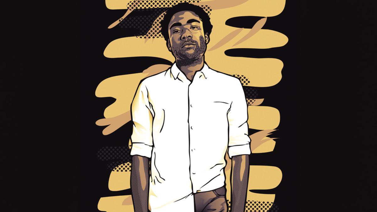 Donald Glover artwork