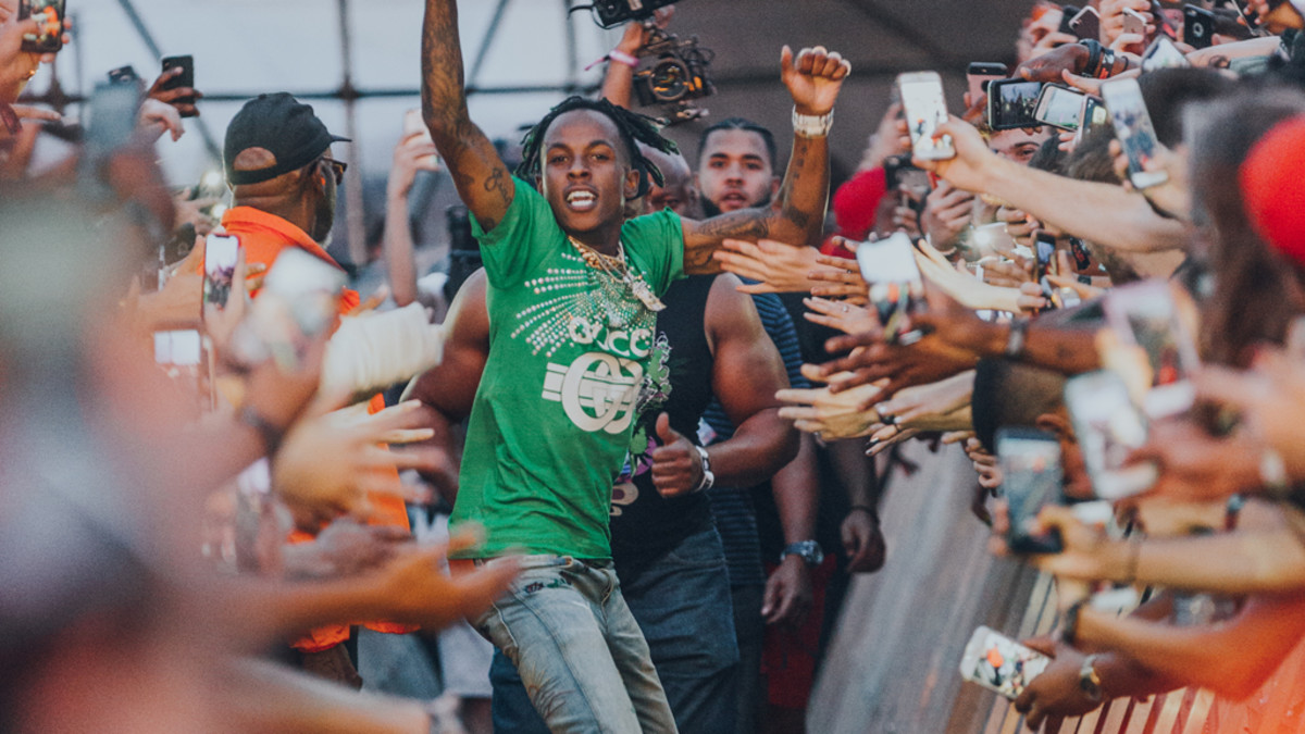 Rich The Kid at Rolling Loud 2018