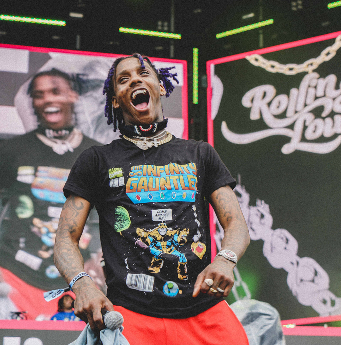 Famous Dex performs at Rolling Loud, 2018