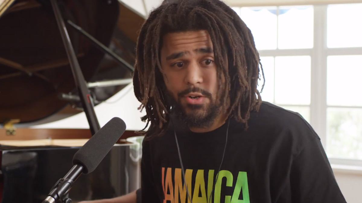 J. Cole interview with Angie Martinez, 2018