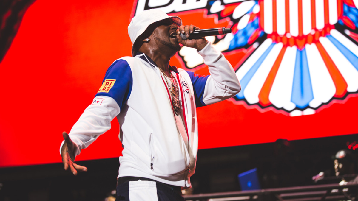 Cam'ron performing at Rolling Loud, 2018