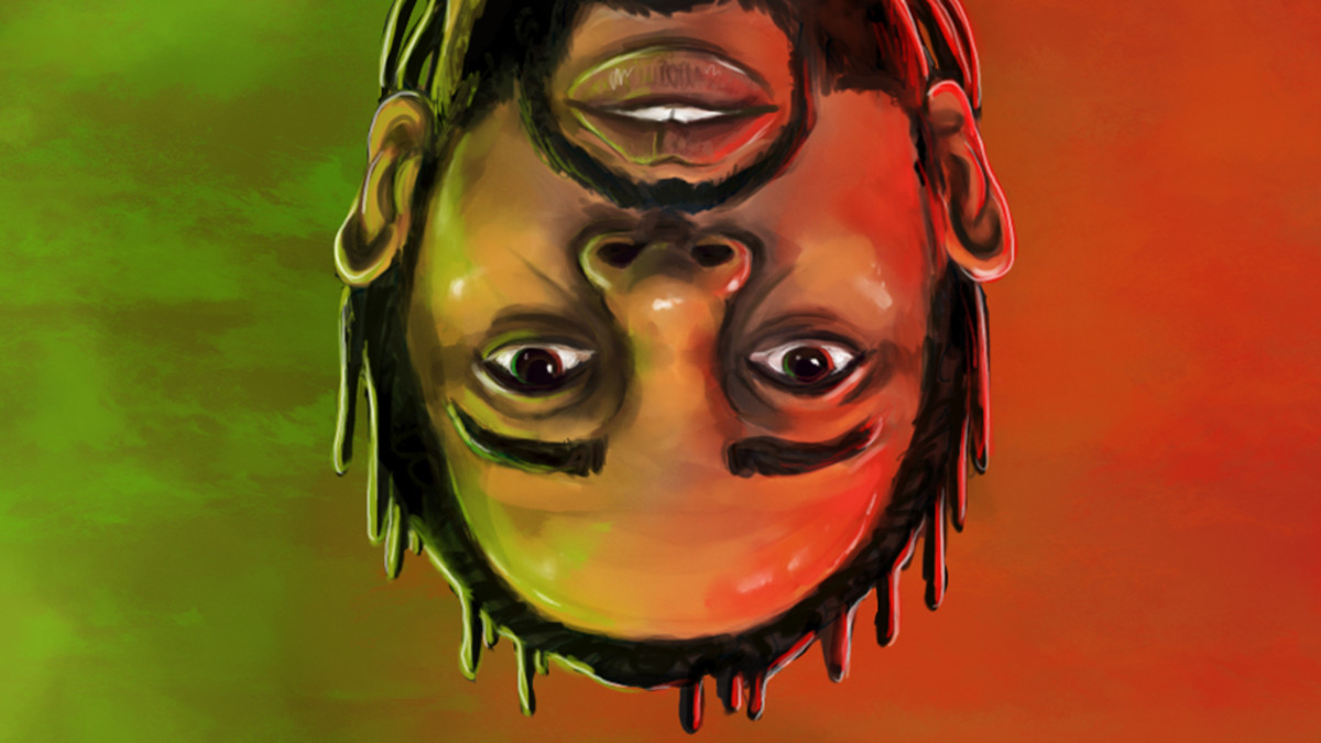 Kendrick Lamar artwork, Wesley's Theory, God Is Gangsta short film