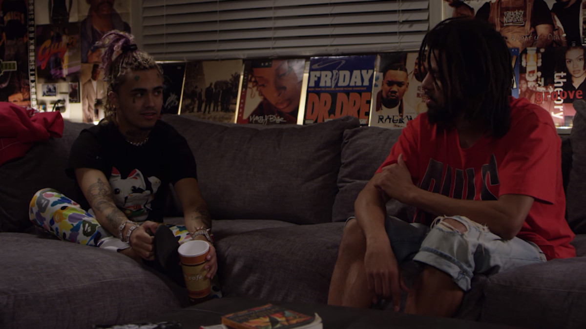 Lil Pump and J. Cole interview each other in Miami