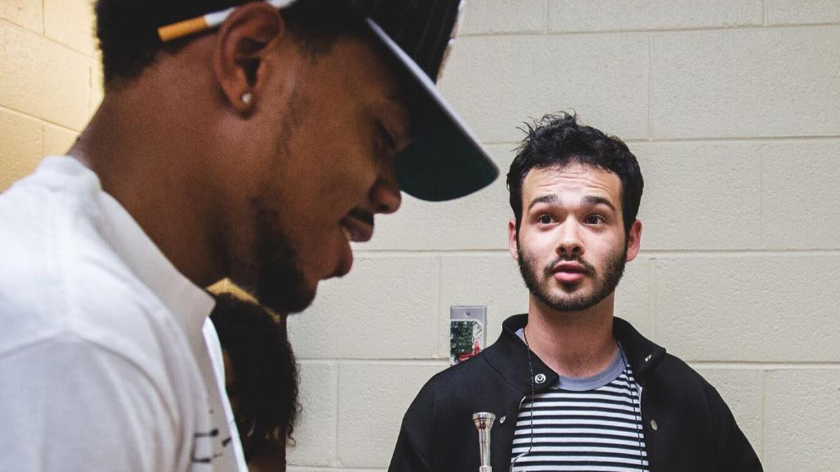 Image result for chance the rapper and Nico Segal