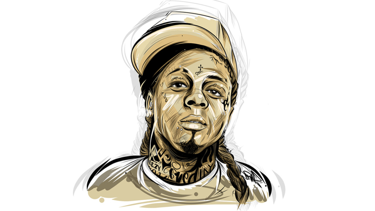 Lil Wayne illustration art