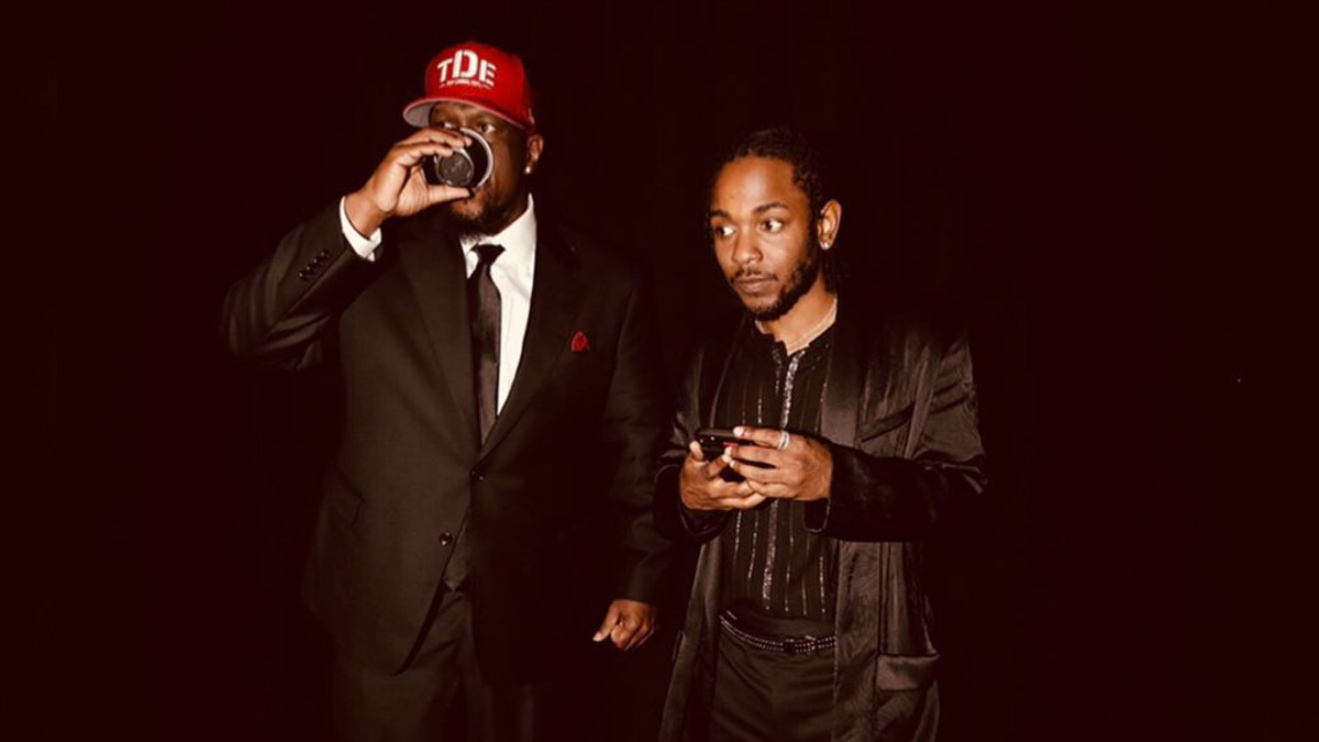 Top Dawg and Kendrick Lamar