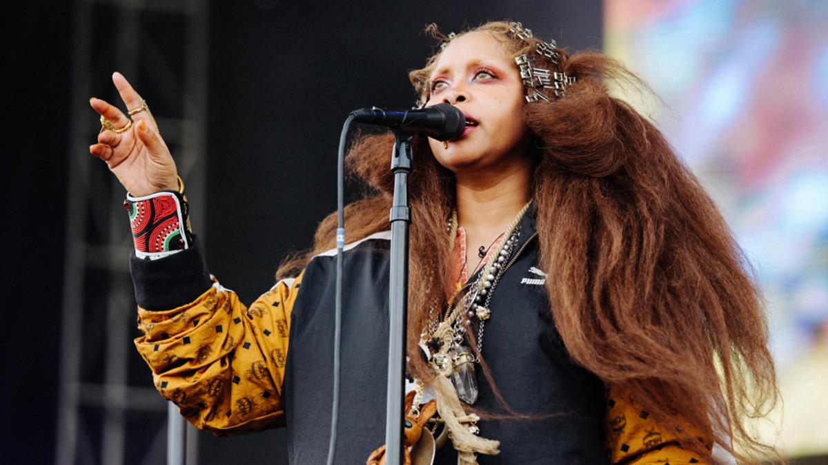 Erykah Badu at Soundset, 2018