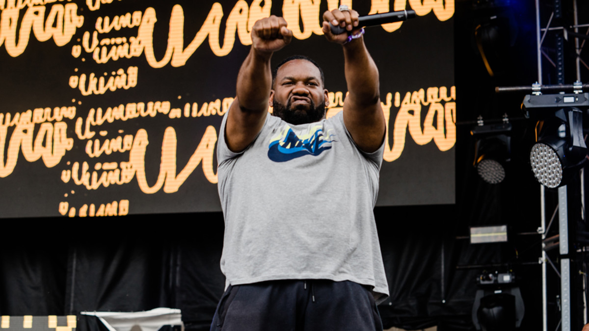 Raekwon at Soundset, 2018