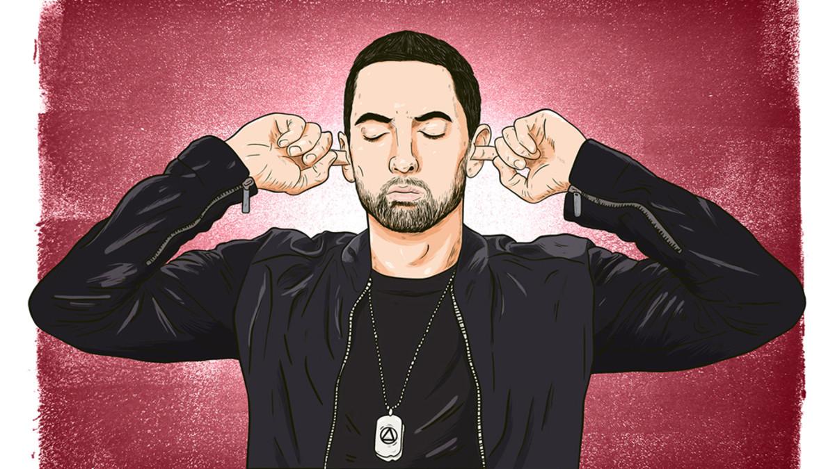 Eminem illustration, 2018