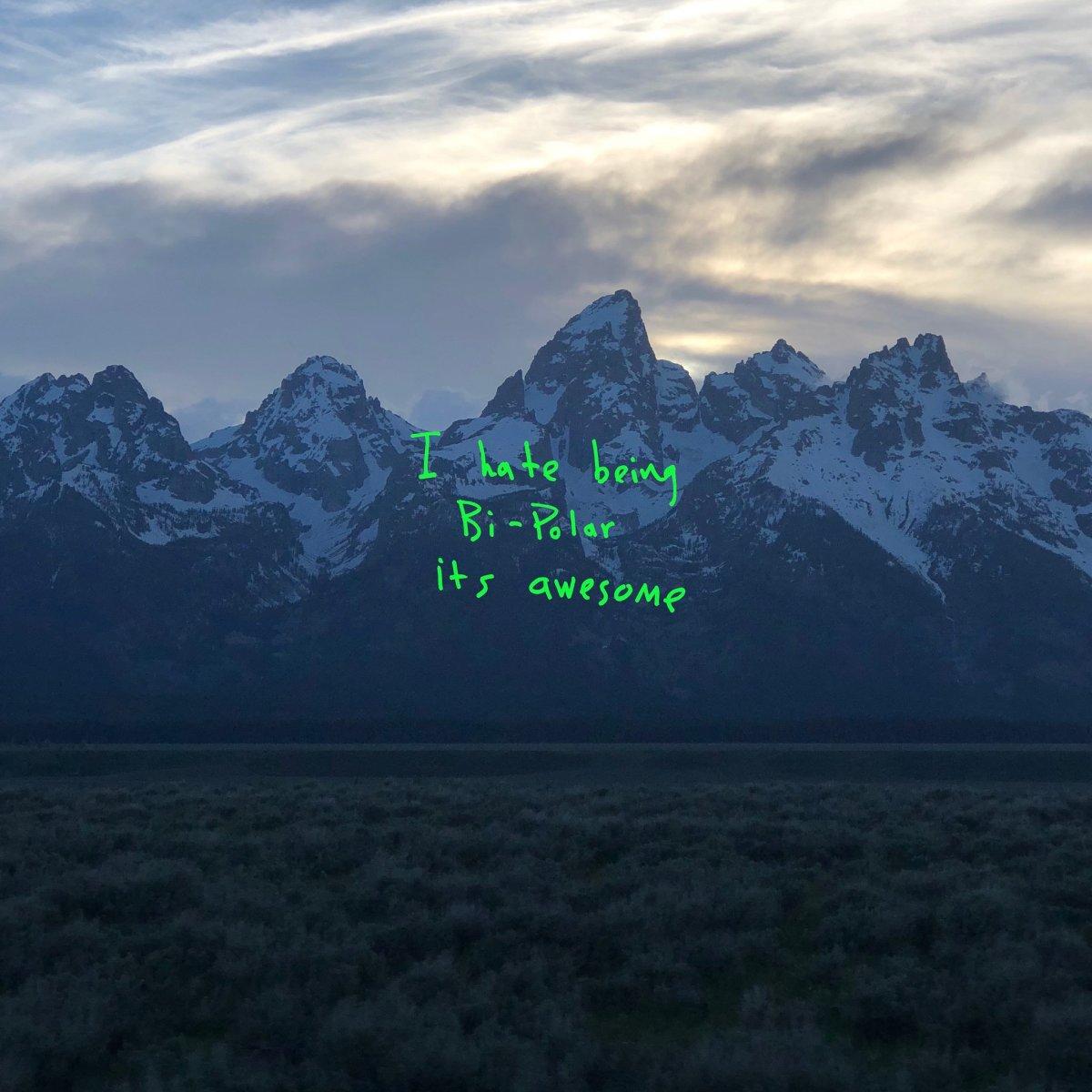 Kanye West 'Ye' album art
