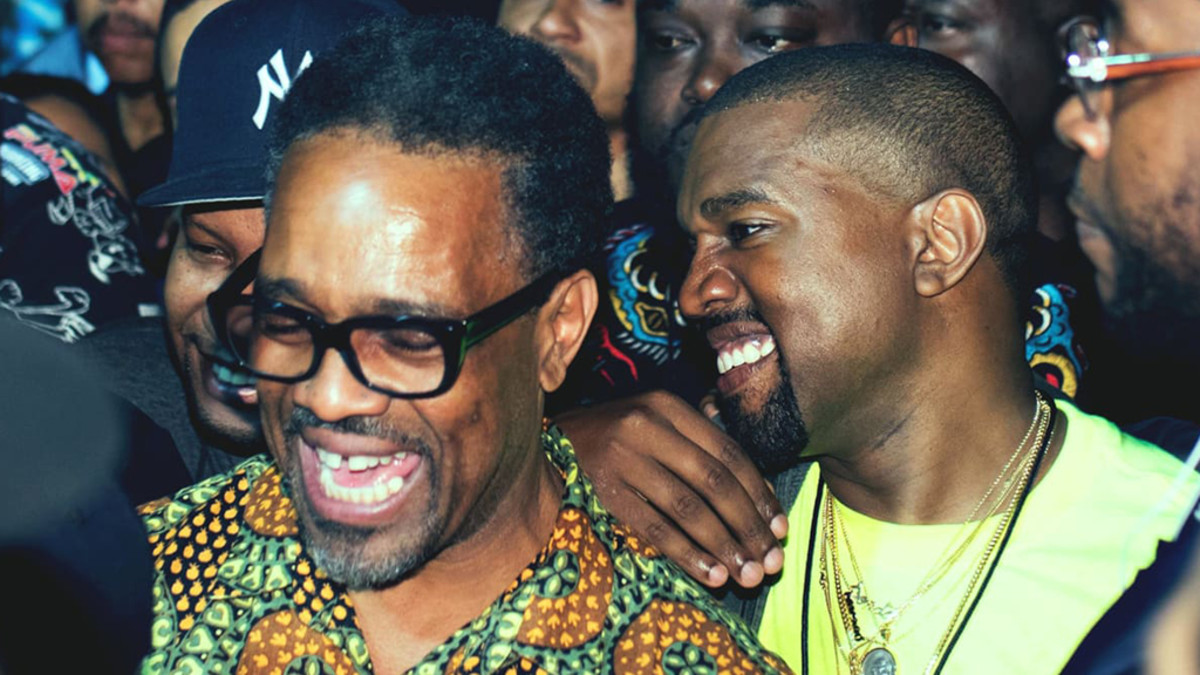 Tony Williams and Kanye West, 2018