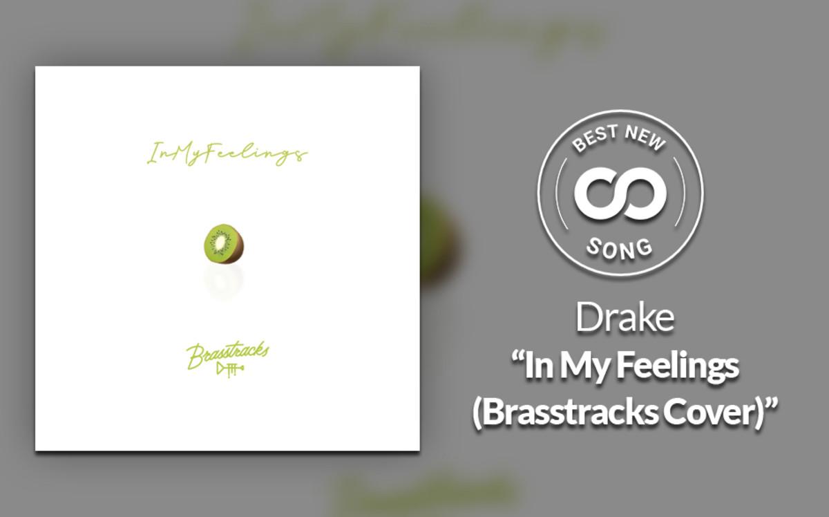 "Drake's ""In My Feelings"" Gets a Vibrant Brasstracks Trumpet Flip"
