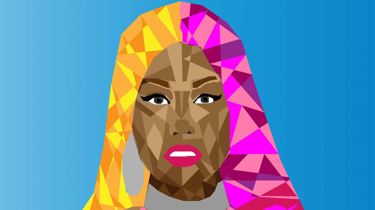 Nicki Minaj art, 2018
