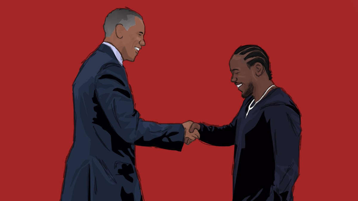 "President Obama Picks Kendrick Lamar's ""How Much a Dollar Cost"" As His Favorite Song of 2015"