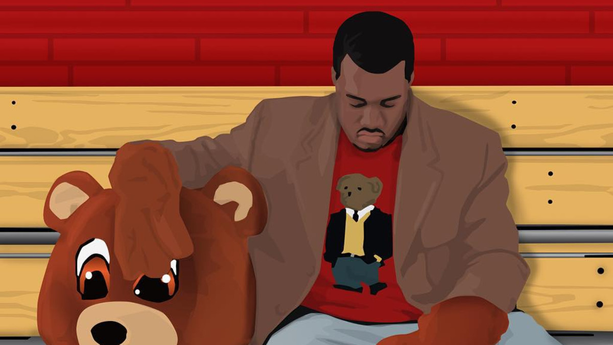 Kanye West, The College Dropout art