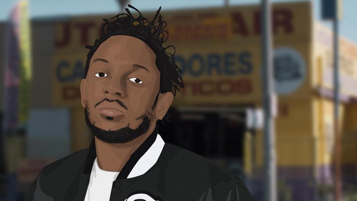 Kendrick Lamar, 2015 art
