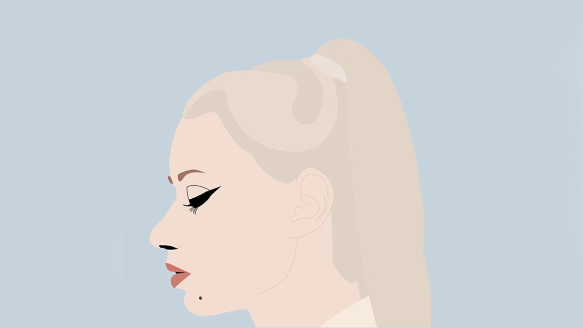 Iggy Azalea illustration