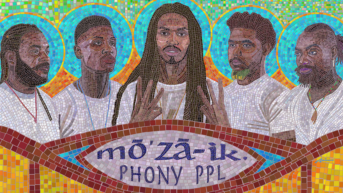 Phony Ppl 'mō'zā-ik' album review