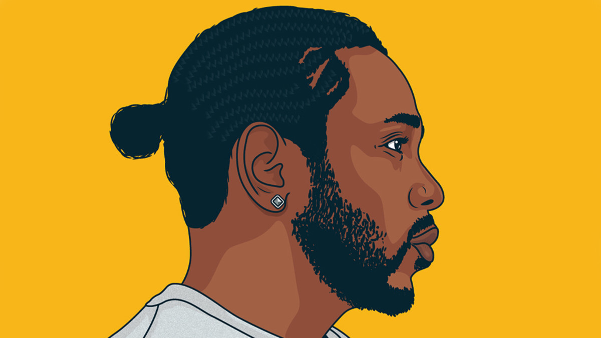 Kendrick Lamar illustration by Michael Walchalk