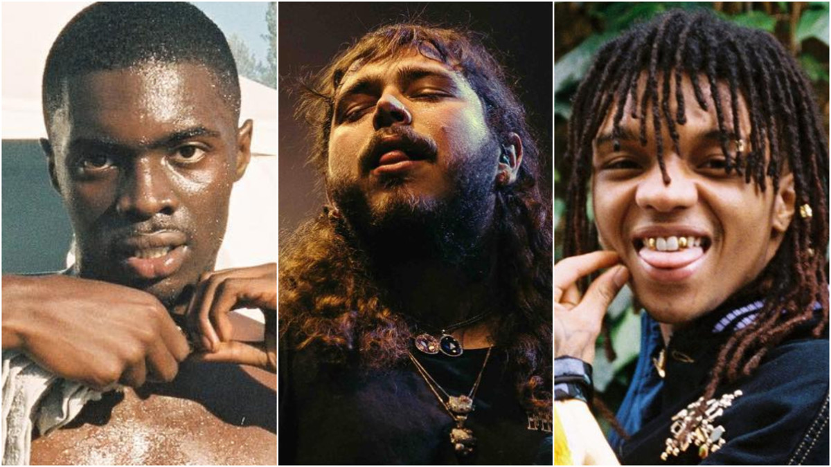 Sheck Wes, Post Malone, Swae Lee, 2018