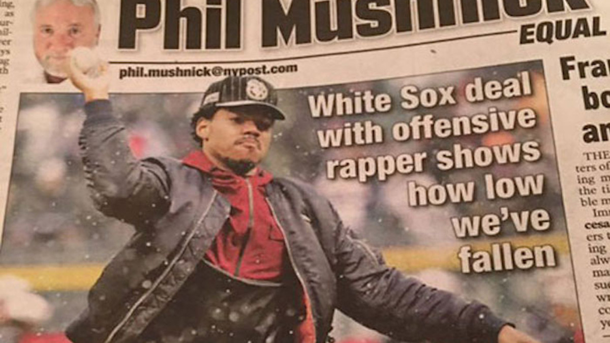 NY Post reporter calls Chance The Rapper an offensive rapper