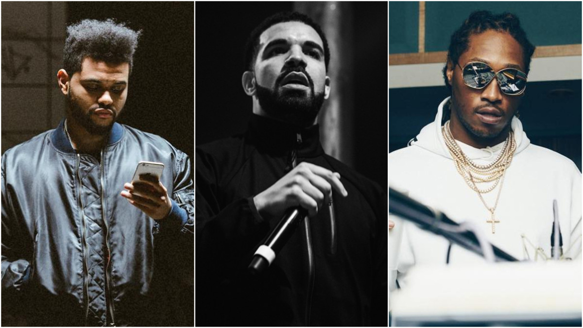 The Weeknd, Drake, Future