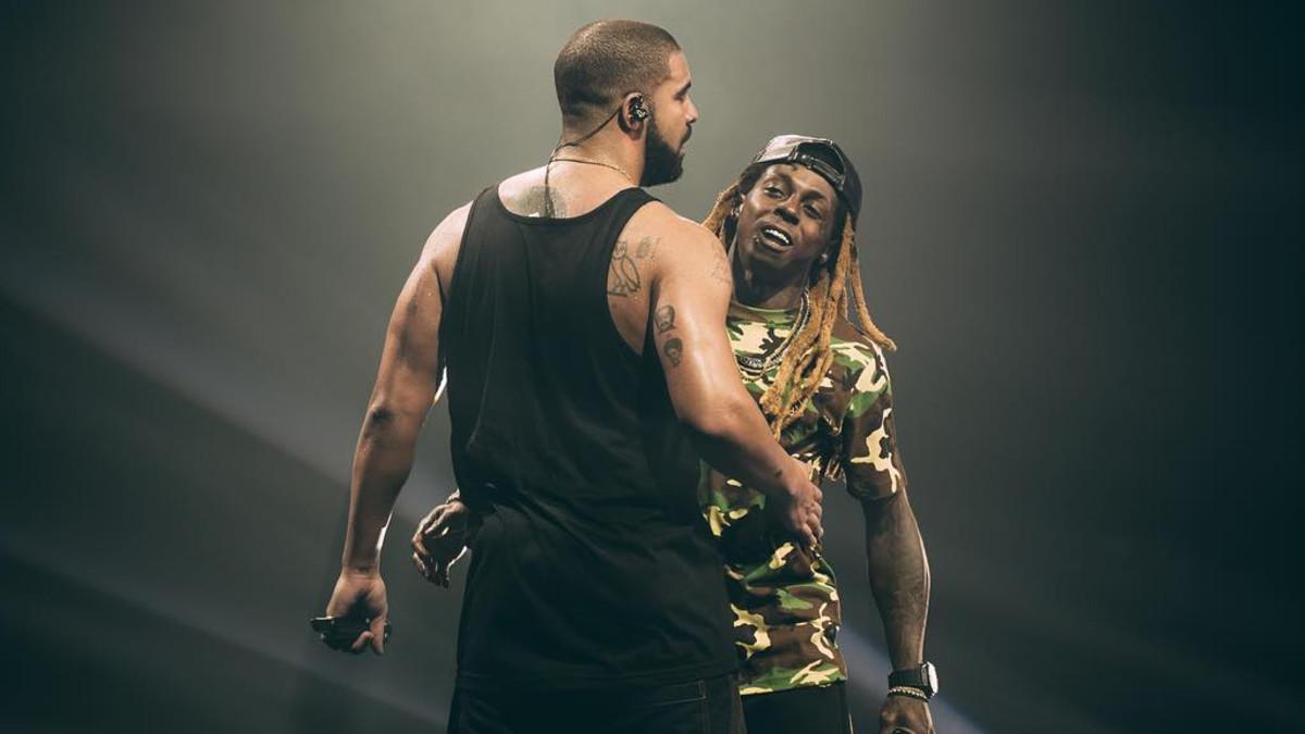 Drake, Lil Wayne, 2016