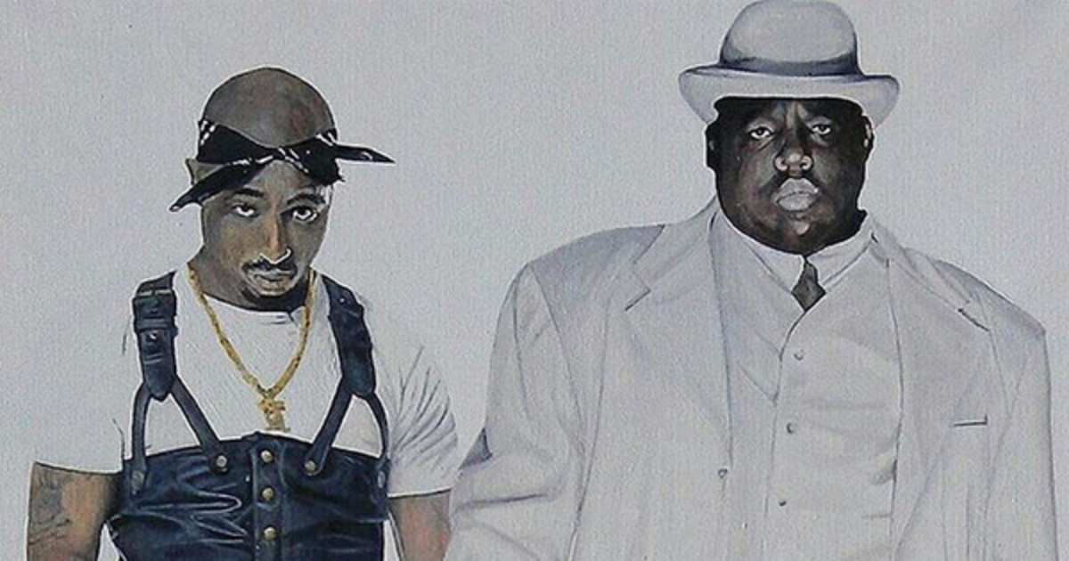 The Notorious B I G , Tupac Shakur & The Dark Side of Immortality