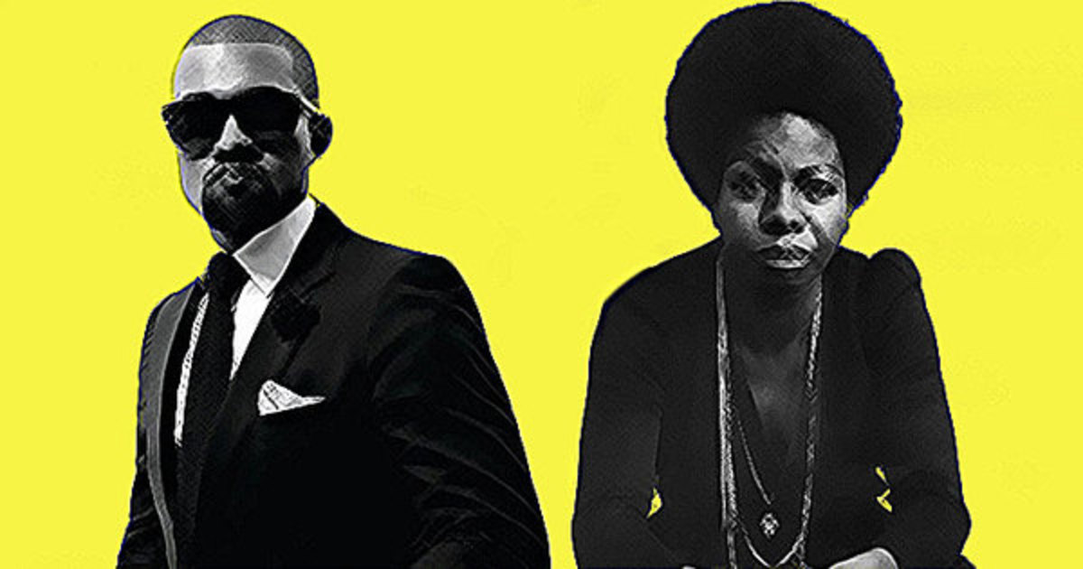 How Kanye West Took Much More From Nina Simone Than Samples