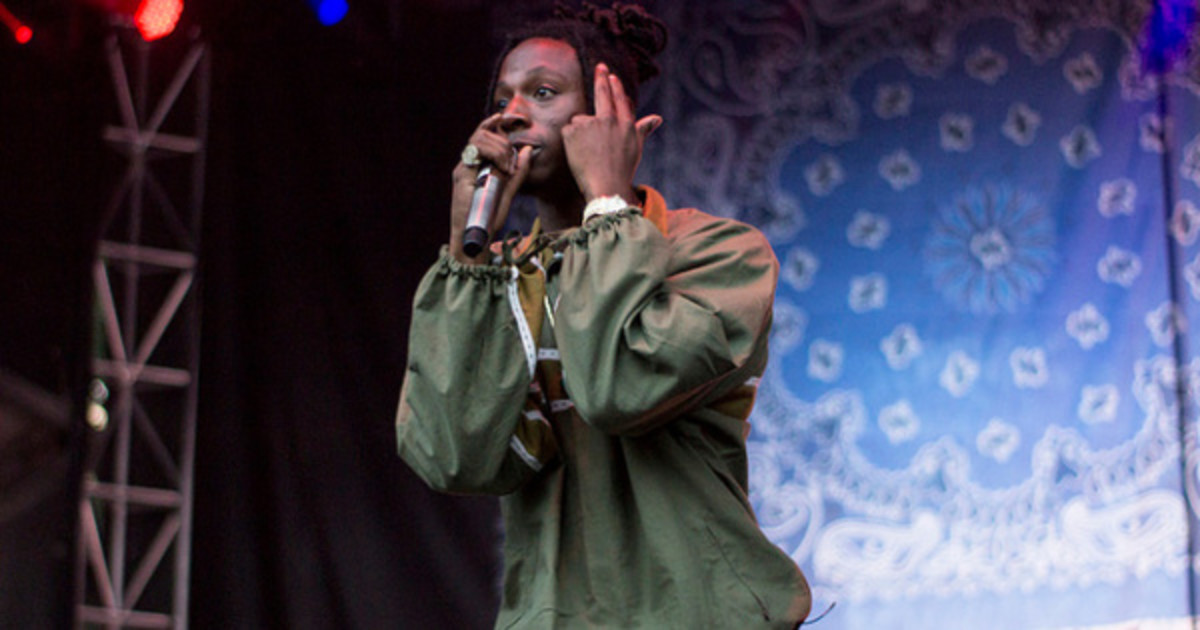 Joey Bada$$ Shares Prince-Inspired