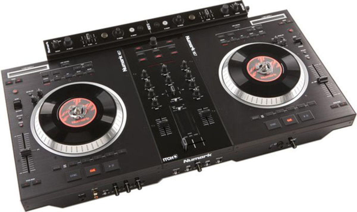 Video] Serato DJ with Numark NS7 - DJBooth