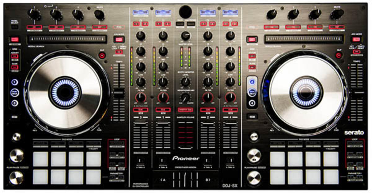 pioneer ddj-sx controller & serato dj software