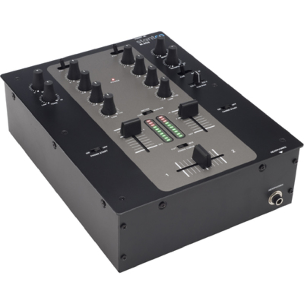 Circuit Compact Mixer Audio Volume Pan Amplifier Stanton M203 Review Djbooth