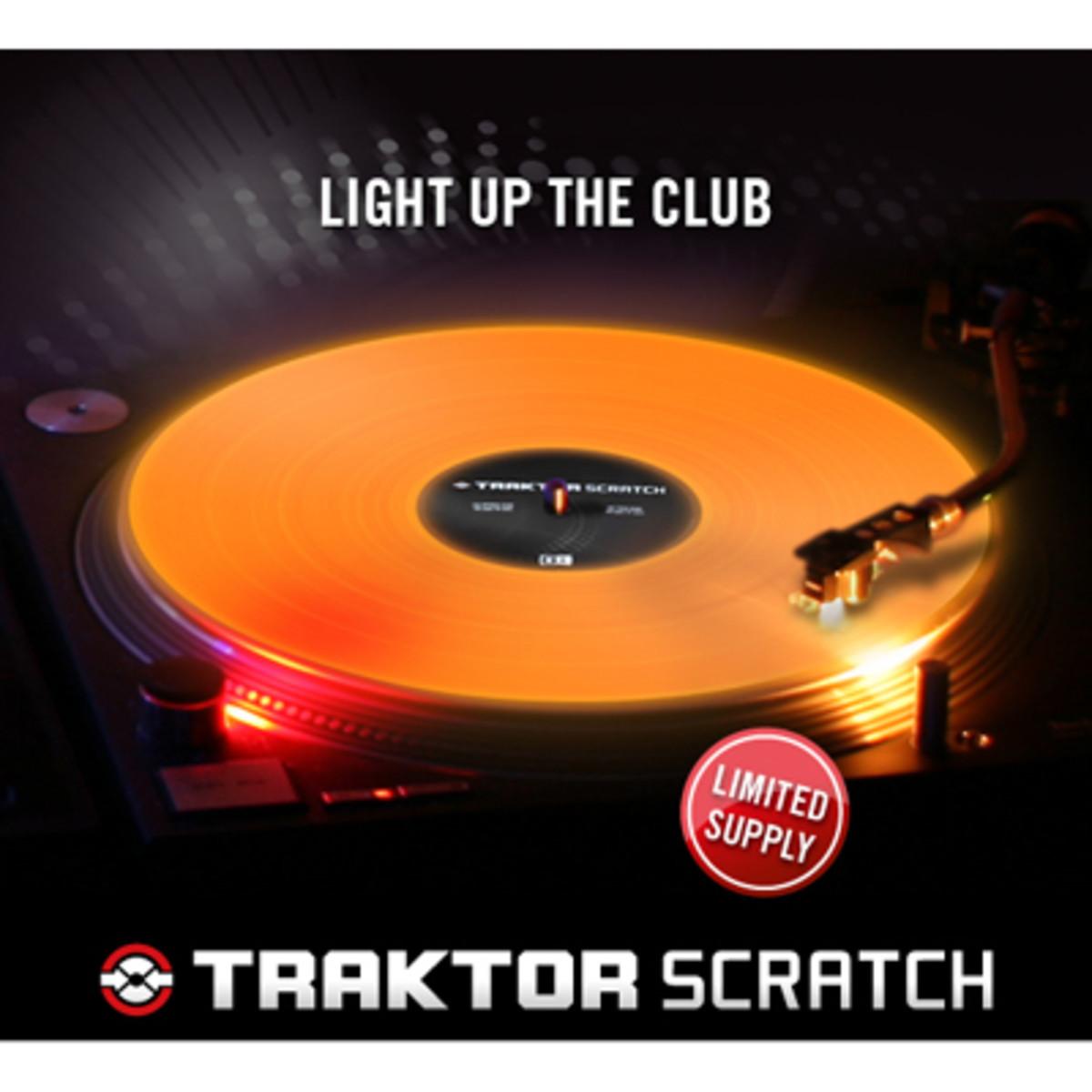 Traktor Releases New Fluorescent Control Vinyl Djbooth