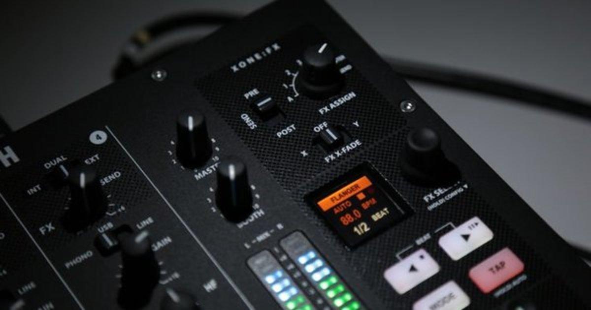 Allen & Heath Xone:PX5 Filters & Effects Tutorial/Demo