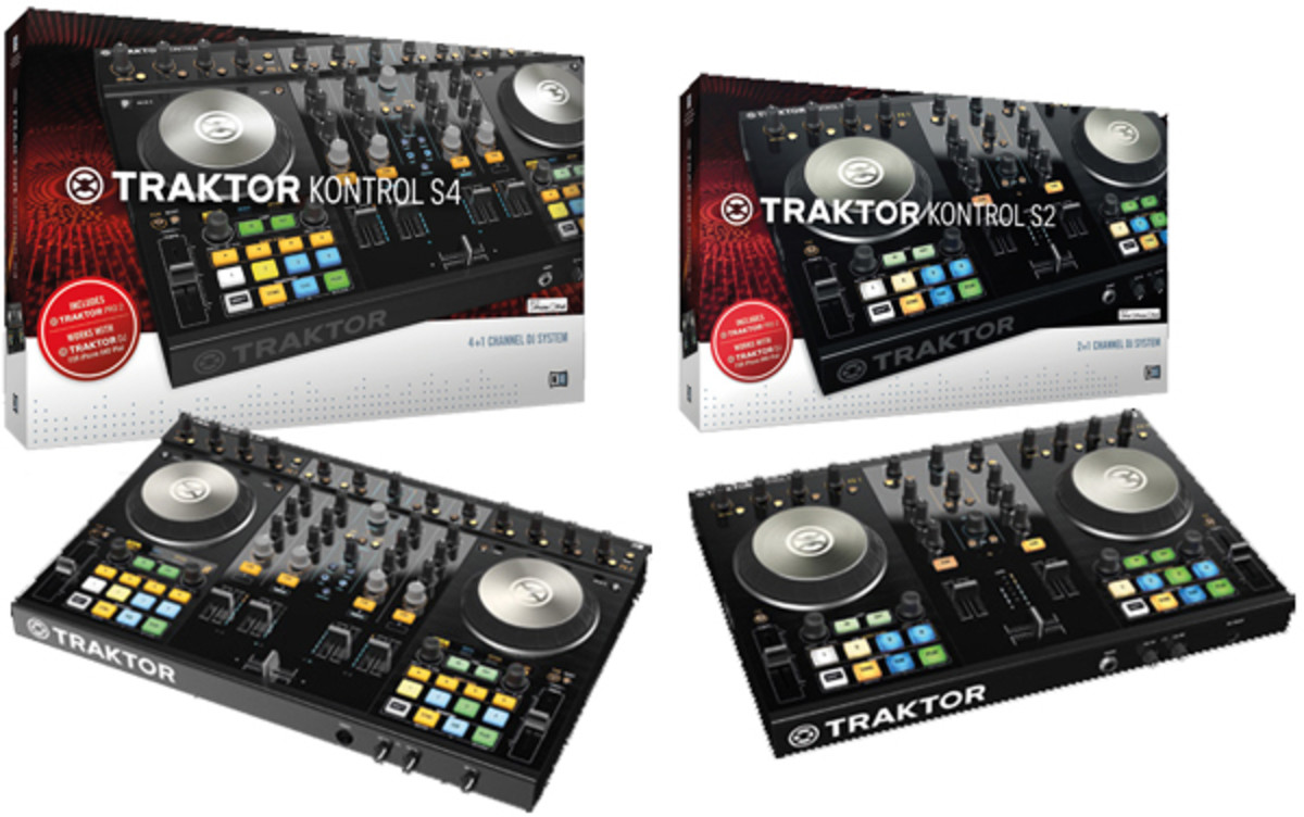 Video] Traktor Kontrol S2 MK2 & S4 MK2 Unboxing & First