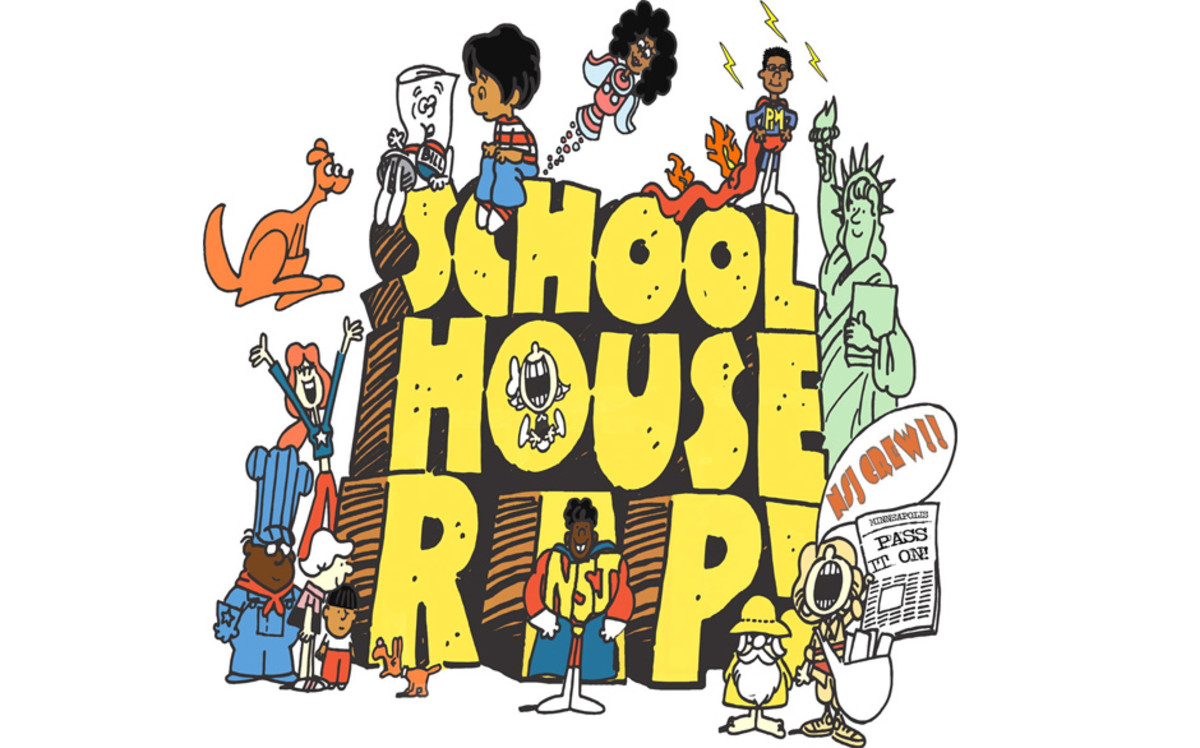 School House Rap artwork, 2012