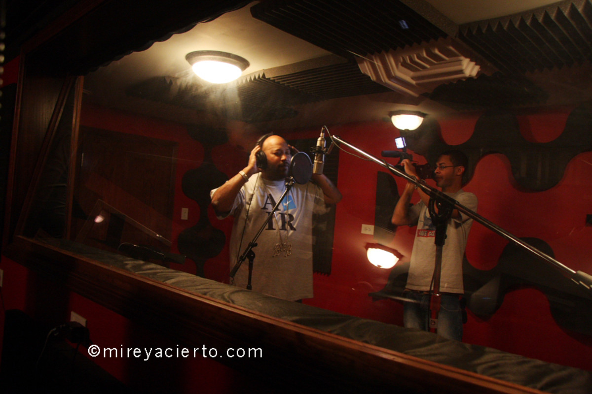 Bun B, recording in Closed Sessions, Chicago