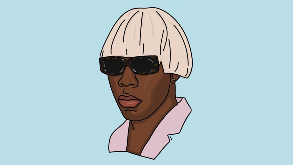 Tyler, The Creator, IGOR, illustration